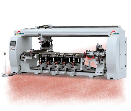 multiboring machines