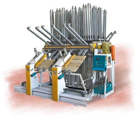 SOLID WOOD STRIPS PRESS