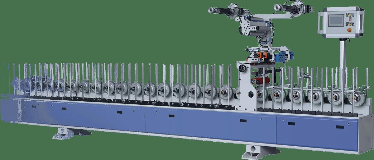 maquinaria recubrimiento de molduras