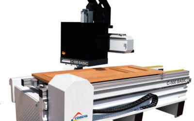 Fresadora de puertas Comeva C-500 Basic: calidad para todos los presupuestos
